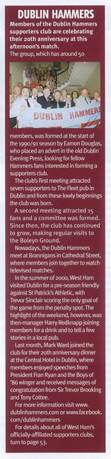 Whufc Programme May 2011